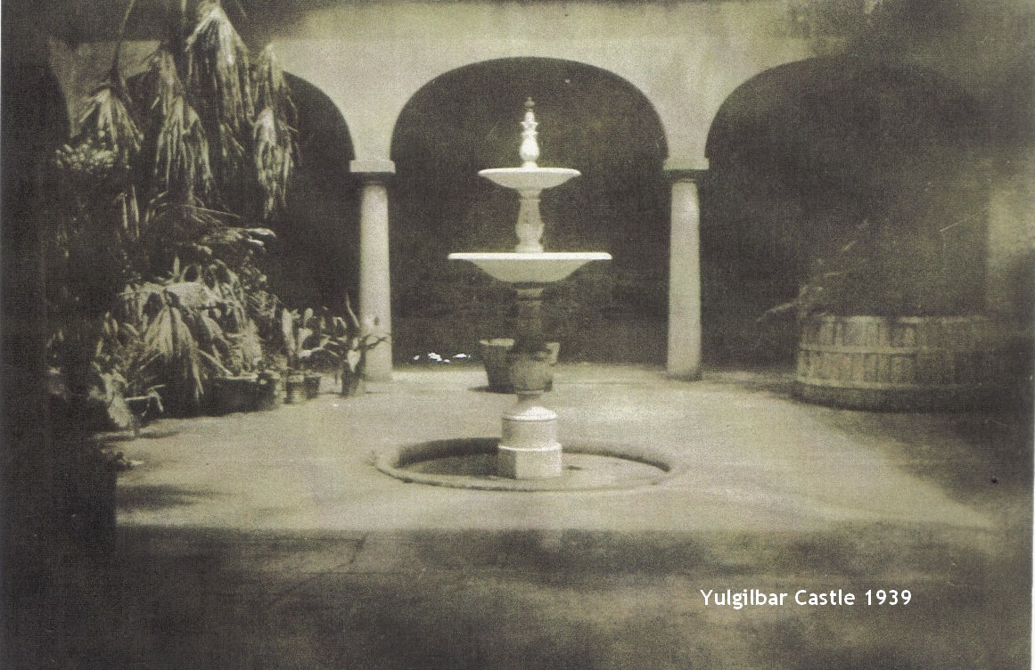 Yulgilbar Castle Fountain - 1939